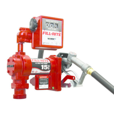 Fill-Rite FR1210G 12V DC Pump with Manual Nozzle