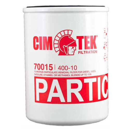 Cim-Tek 70015 Model 400-10, 1 inch flow 10 Micron Spin-on Particulate Removal Filter