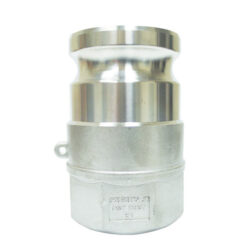 Two Inch Stainless Steel Kamvalok Adaptor with Viton Seal
