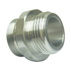 DEF Stainless Steel One Inch BSPP Fixed Hose Inlet