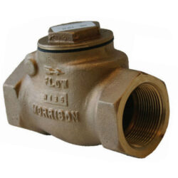 Morrison 246A-0200-AV Threaded Two-Inch Swing Check Valve