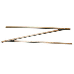 B and K Model 3FL-18 Three Sectional Fold-N-Lock Gauge Stick with Overall length of 18 feet