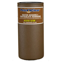 Petro Clear 40910W 10-Micron Water Sensing Filter, 3/4-Inch Flow