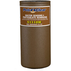 PetroClear 51110W 10-Micron Water Sensing and Particulate Removing Filter, 1-Inch Flow