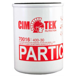 Cim-Tek 70016 Model 400-30, 1 inch flow 30 Micron Spin-on Particulate Removal filter