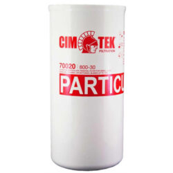 Cim-Tek 70020 Model 800-30, 1 inch flow 30 Micron High-Flow/High Volume Particulate Removal filter