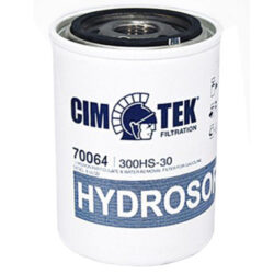 Cim-Tek 70064 Model 300HS-30, 3/4 inch flow 30 Micron Hydrosorb / Particulate Removal Filter