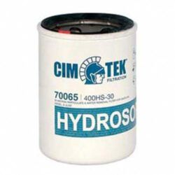 Cim-Tek 70065 Model 400HS-30, 1 inch flow 30 Micron Hydrosorb / Particulate Removal Filter