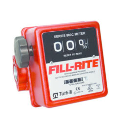 Fill-Rite Model 807C Three Wheel Mechanical, 3/4 inch Meter