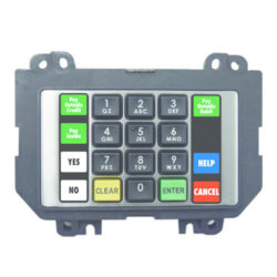 Wayne Secure Payment Module Keypad Assembly with Shell, SK, Beta, Dual Injection