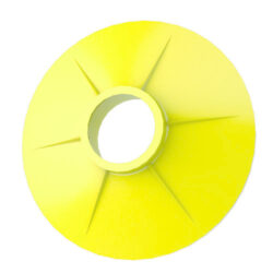 OPW 8HY-0900 Splash Guard for 7H / 7HB - Yellow