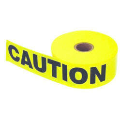 Barricade Yellow CAUTION Tape 3 inch x 1000 foot