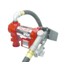 Fill-Rite 12V DC High Flow Pump with hose & Manual Nozzle