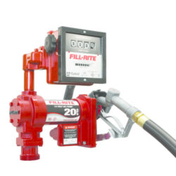 Fill-Rite Model FR4211G 12V DC High Flow Pump with Hose, Manual Nozzle and Meter
