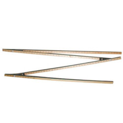 BandK Model GP5-4WAY Four Way One Section Gauge Pole with Overall length of 5 feet