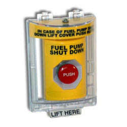 Power Integrity IA-ESOC Emergency Stop Operator with Lift-up Clear Cover