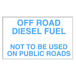 Off Road Diesel Decal 10 inch width x 6 inch height