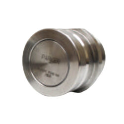 Two Inch 303 Stainless Steel Female Drybreak Coupler with FNPT