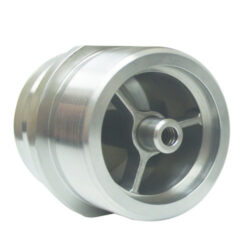 Two Inch 303 Stainless Steel Male Drybreak Adapter with Two Inch Male NPT