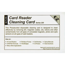 Gilbarco Q11482 Cleaning Card