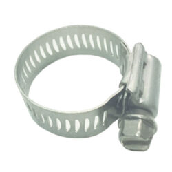 Worm Gear Clamp; 1 to 1 1/4 inch