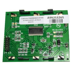 Wayne WM040824-0010 5 X 11.7 MM Dual Price LCD Display Module